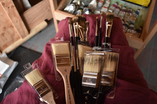 Rosemary and co brushes