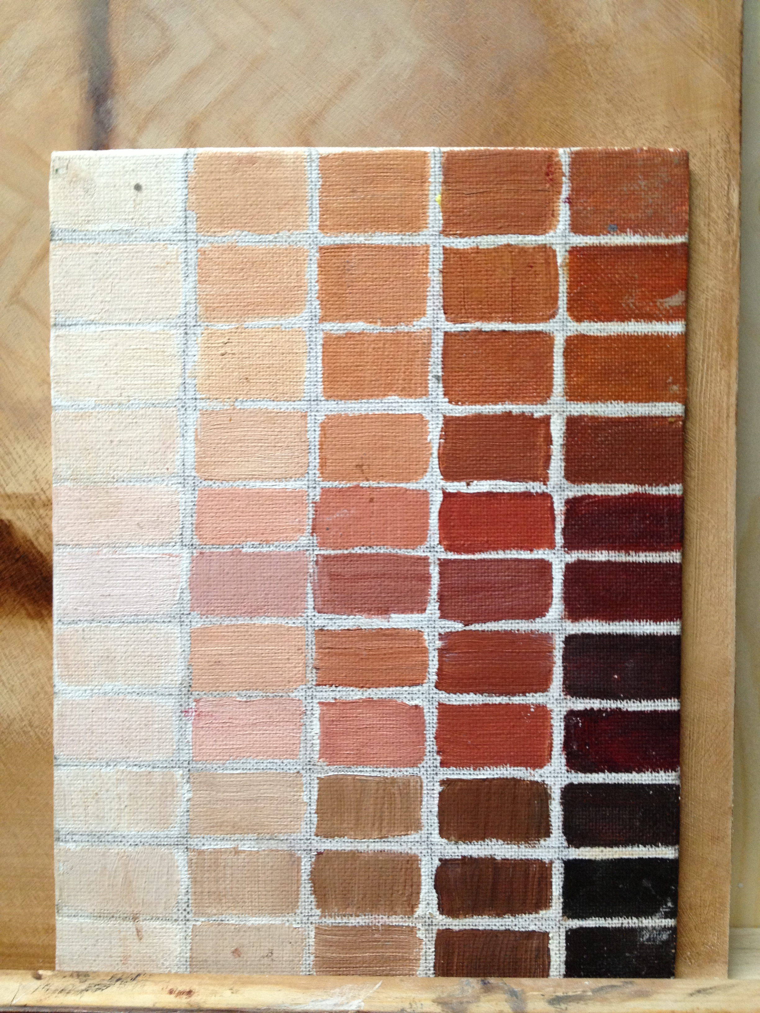 How To Mix Skin Tone Color Paint