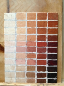 skin tone colour chart