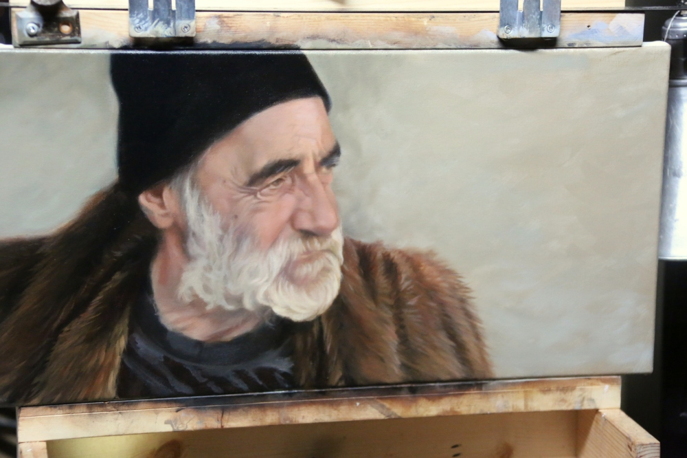 Stan on my easel1