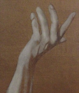 painters hand